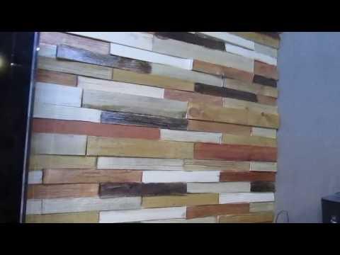 Влагостойкая ДСП QuickDeck в качестве основы для декора стен