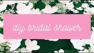 SHELBY'S BRIDAL SHOWER!