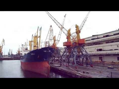 Портальные краны GANZ. Одесский порт