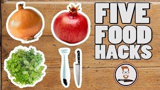 TOP 5 FOOD HACKS