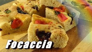Focaccia In Your Bread Machine! - Spring Inspired, So Easy And Yummy Too!