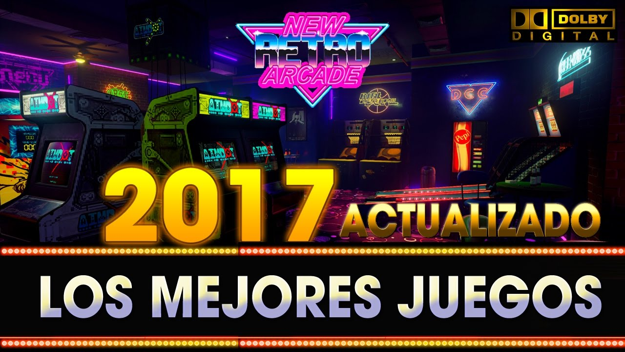 New Retro Arcade Los Mejores Juegos Actualizado 2017 Youtube