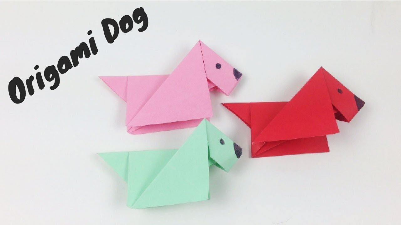 Origami Animals For Kids Step By