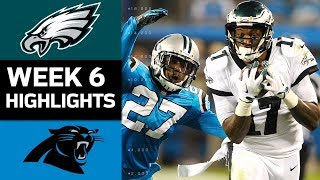 Eagles vs. Panthers | NFL Week 6 Game Highlights 2017 Video