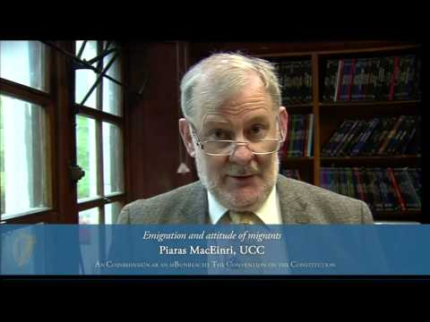 Piaras Mac Einri Convention On The Constitution 28 9 13 Youtube