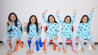 Five Little Babies Sitting on the Chairs 5 little Monkeys Jumping on the bed Nursery Rhyme Songs