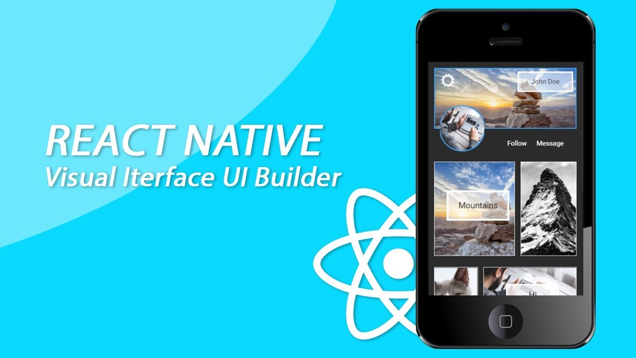 React Native Visual Interface Drag And Drop App Builder Working Prototype #3