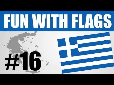 Fun With Flags #16 - Greek Flag