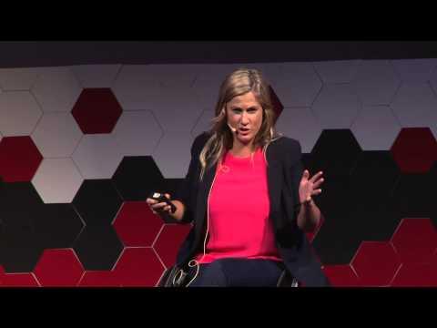 A happy baby: Karni Liddell at TEDxSouthBankWomen