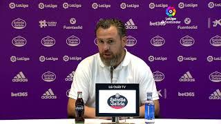 Rueda de prensa Real Valladolid Cf vs D. Alavés