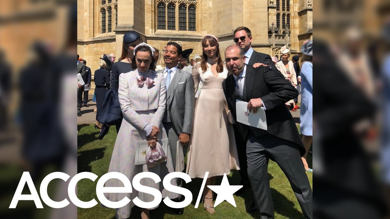 meghan markle s suits co stars celebrated after the royal wedding with karaoke access youtube meghan markle s suits co stars celebrated after the royal wedding with karaoke access