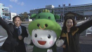松阪市出身の歌手で松阪市ブランド大使を務めるあべ静江さんが、市内を...