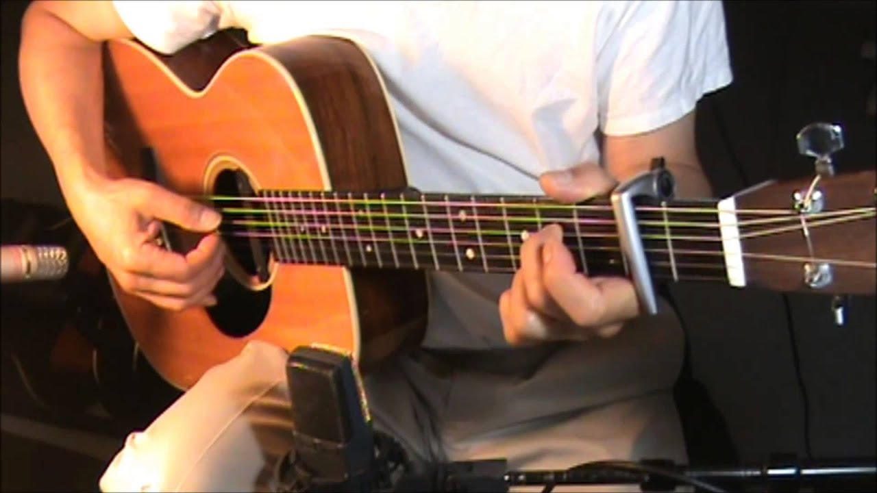 Yesterday Beatles Fingerstyle Chords Cover Youtube