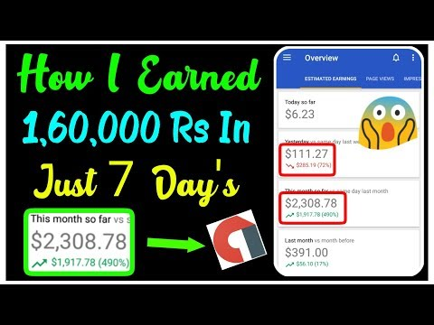 How I Earned $2300 From Admob In Just 7 Days !! My Full Admob Journey