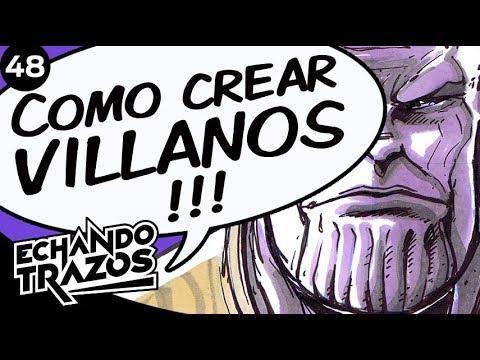 COMO CREAR UN VILLANO DE COMICS / COMO DIBUJAR A THANOS