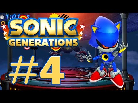 Sonic Generations 3DS - Metal Sonic & Big Arm