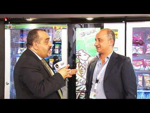 VendingtoGo Bari 2013 Vending TV Fabio Russo intervista Rocco Tedone di DIA Vending srl