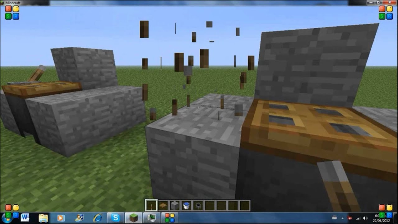 How To Make A Sink In Minecraft Youtube