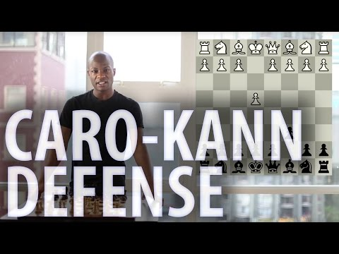 Chess openings - Caro-Kann Defence
