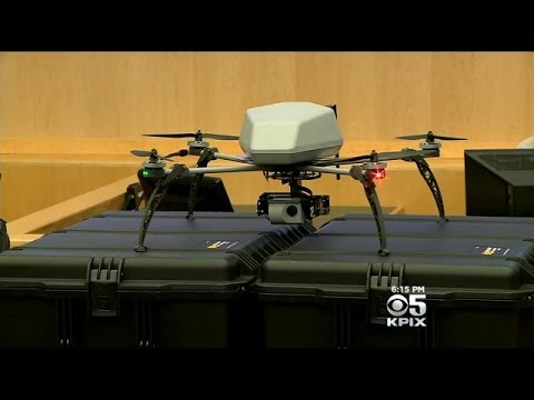 Alameda County Sheriff Shows Off $100K Drone System