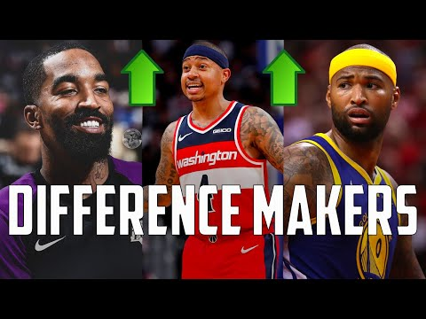 10 Available Free Agents That Can Make A MASSIVE Difference When The NBA Resumes...