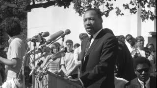 Martin Luther King at UC Berkeley Sproul Plaza, 1967 | KQED