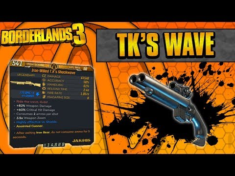 Borderlands 3 | TK's Wave Legendary Weapon Guide (Ride The Wave!)