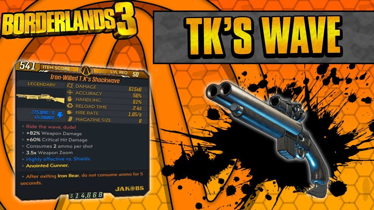 Borderlands 3 | TK's Wave Legendary Weapon Guide (Ride The Wave!) thumbnail