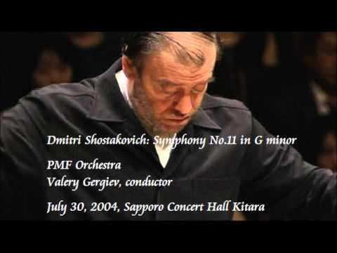 Shostakovich: Symphony No.11 in G minor - Gergiev / PMF Orchestra