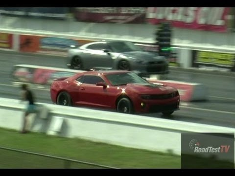 Redline 2013 Camaro Zl1 Stage 2 Vs Nissan Gtr W Tune And