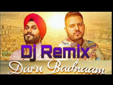 Daru Badnaam Kardi / Youtu AT LATEST D J REMIX  SONGS