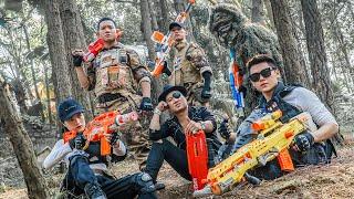 LTT Game Nerf War : Couple Warriors SEAL X Nerf Guns Fight Inhuman Group Perfect Plans