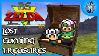 Lost Gaming Treasures: BS The Legend of Zelda - GamesBrained