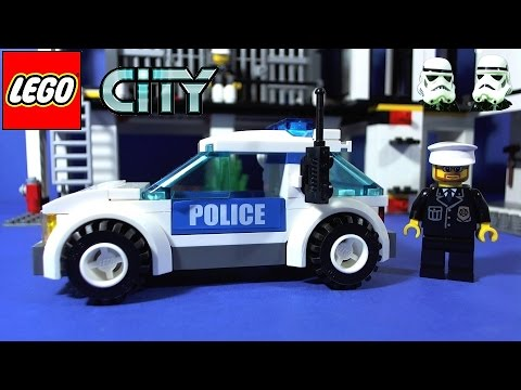 LEGO CITY POLICE HEADQUARTERS 7744