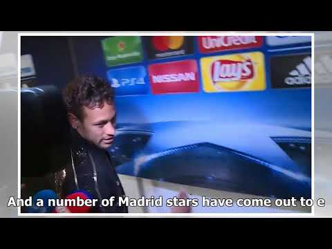 Psg superstar neymar storms out after being asked about real madrid move