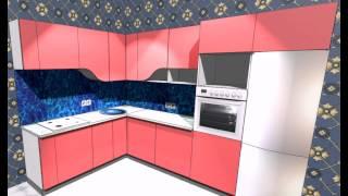 PRO100 проект Кухни под заказ в Харькове(Наш Сайт http://stolyarnyceh.com.ua кухня угловая 2130-3040 фирма