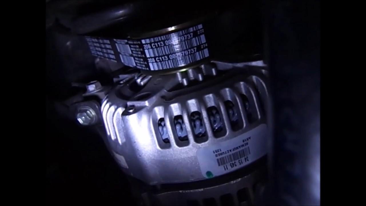 2006 Toyota Sienna upper belt noise & fix