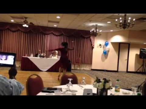 Dancing to Mali Musics Beautiful for Aunt & Uncles 25th wedding anniversary