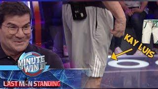 Minute To Win It: Edu Manzano, nanghiram ng outfit kay Luis para sa kanyang laban