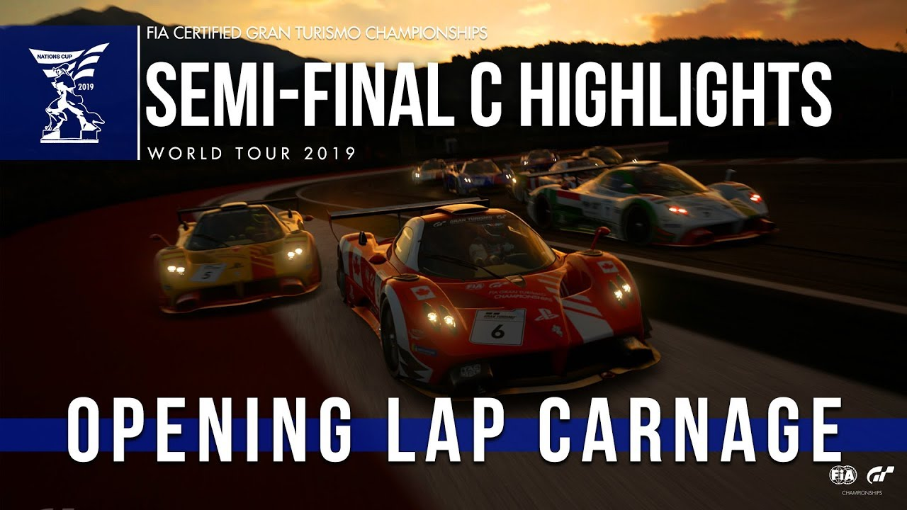 Opening Lap Carnage - GT Sport Nations Cup Highlights