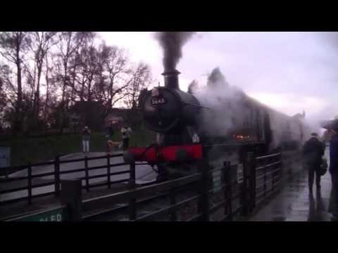 Great Central Railway - Winter Steam Gala 2014 - Rothley Station