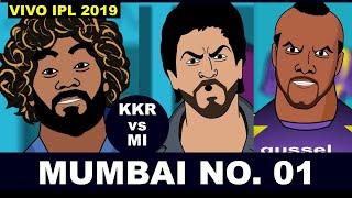 #KKRvsMI - #vivoipl2019- MUMBAI NO. 01