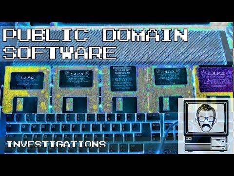 Public Domain Software; Investigations | Nostalgia Nerd