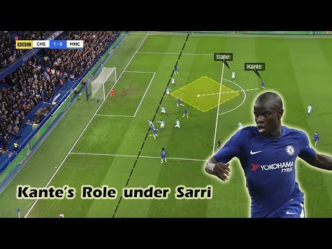 N'golo Kante's Role under Maurizio Sarri | Tactical Analysis