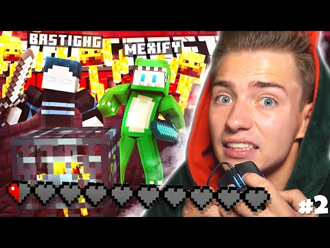 MexifyLP und xXBastiHD im Nether!!!11  Minecraft Hardcore #2