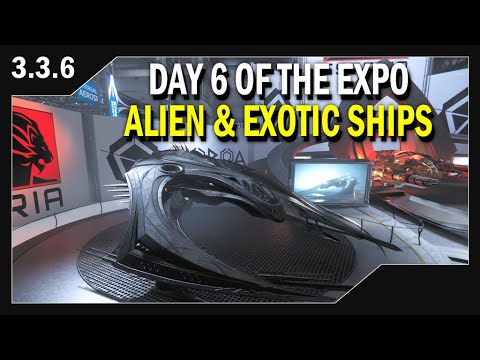 Star Citizen: Day 6/Alien & Exotic Ship Manufacturers