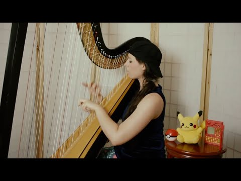 Pokémon TV Theme // Amy Turk, Harp