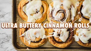 Homemade Buttery Brioche Cinnamon Rolls