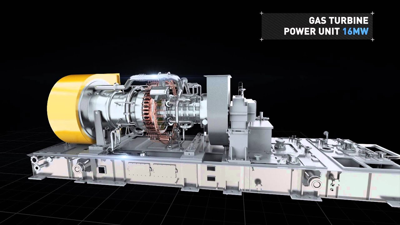 Gas turbine power station 16 MW