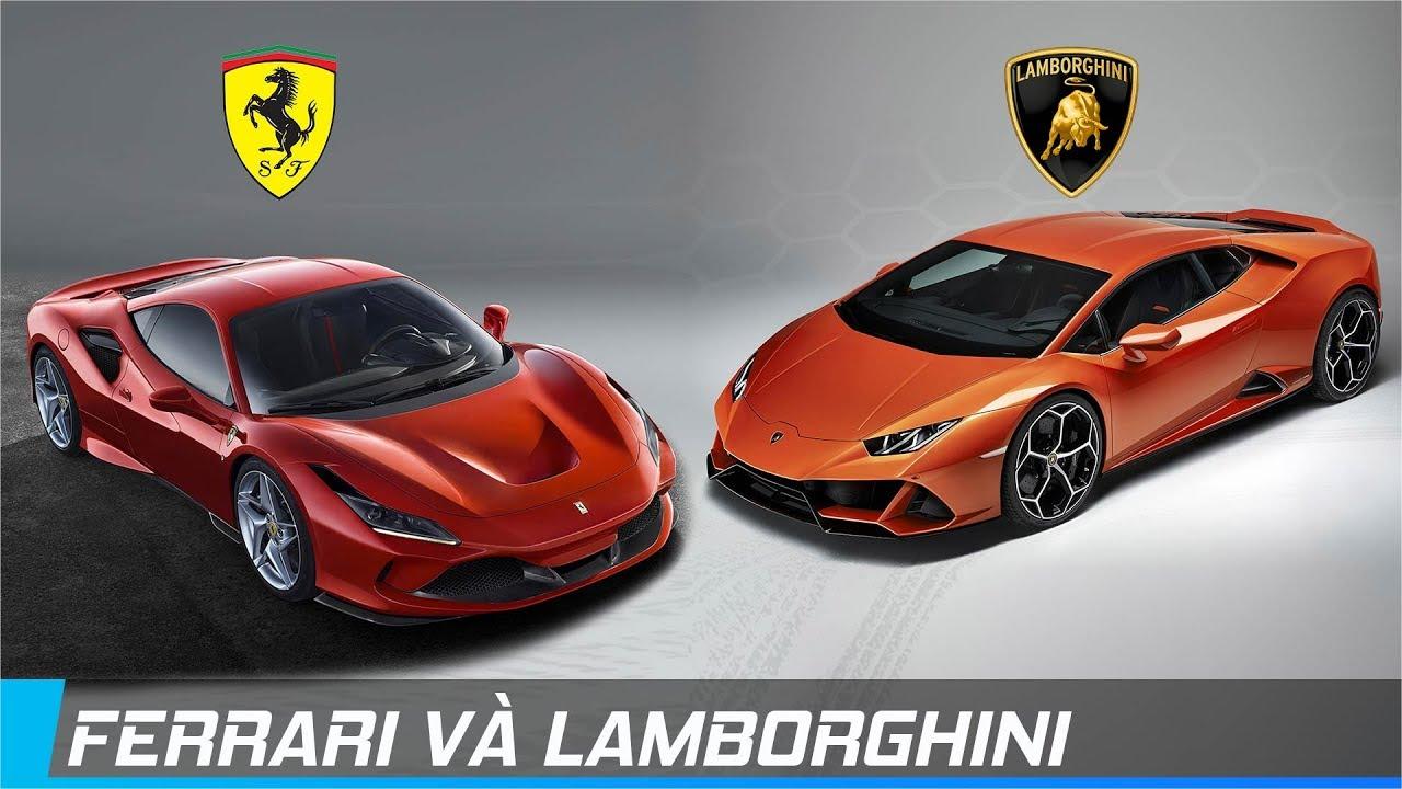 Ferrari và Lamborghini   Cuộc chiến kịch tính nhất trong thế giới xe   XE24h